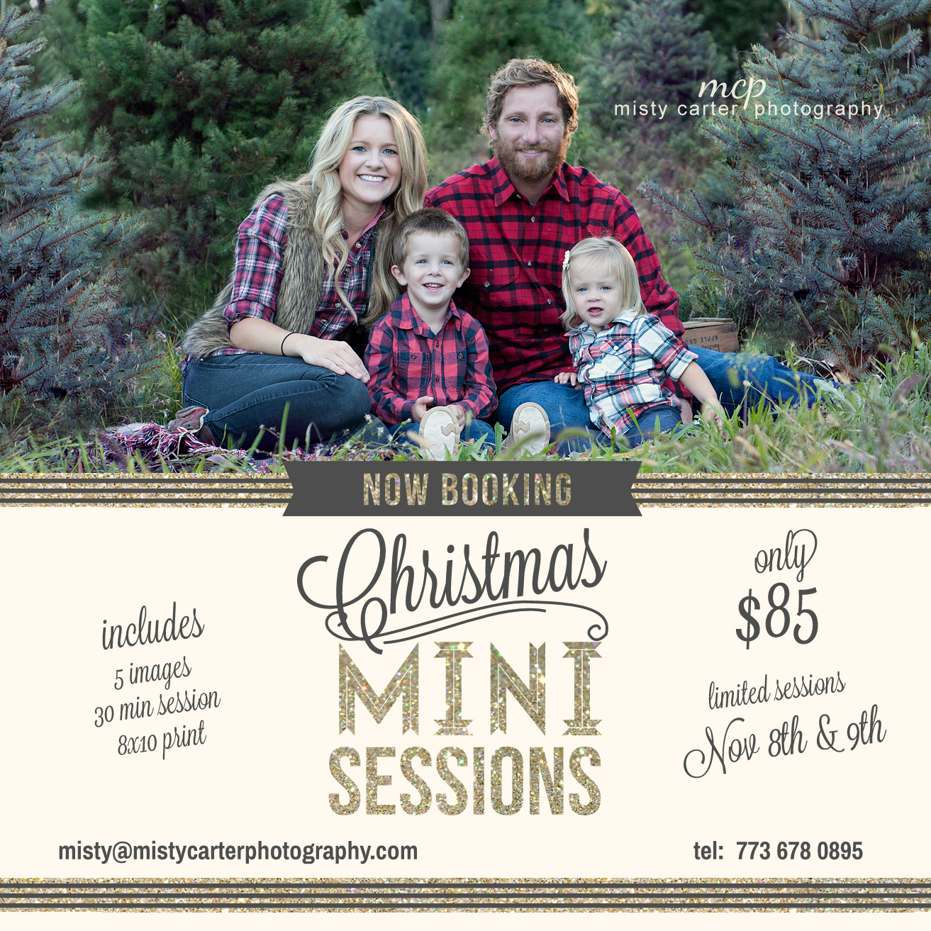 Christmas Tree Farm Mini Sessions.Christmas Mini Sessions Family Portrait At Christmas Tree