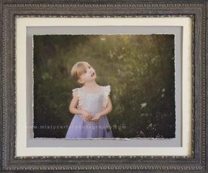 child portrait framed art print